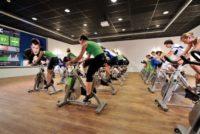 aula de spinning