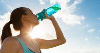 beber agua e saude