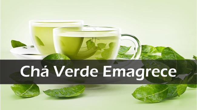Chá Verde Emagrece e Acelera o Metabolismo - Melhora o Humor e Colesterol Ruim LDL