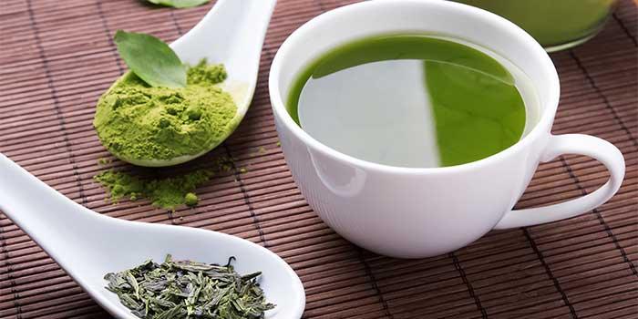 chá verde acelera o metabolismo