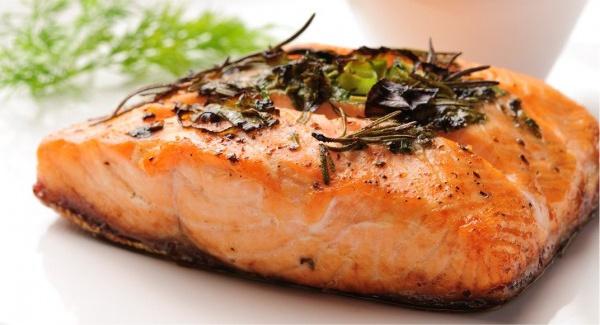 Salmão Ômega 3 aumenta o metabolismo basal
