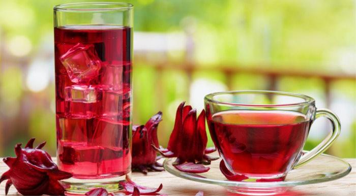 Chá de Hibisco Emagrece - Benefícios, Como Tomar, Cardápio
