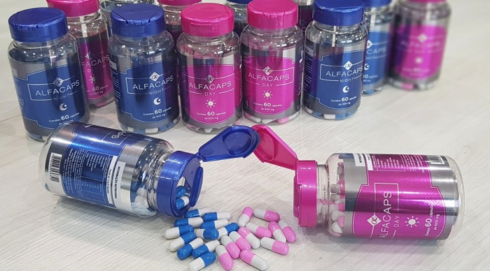 Alfacaps Emagrecedor Natural Funciona - Queimar 5, 10, 20kg de Gordura