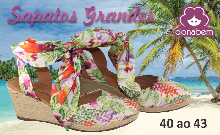 DonaBem Shoes - Sapatos Femininos Tamanho Grande