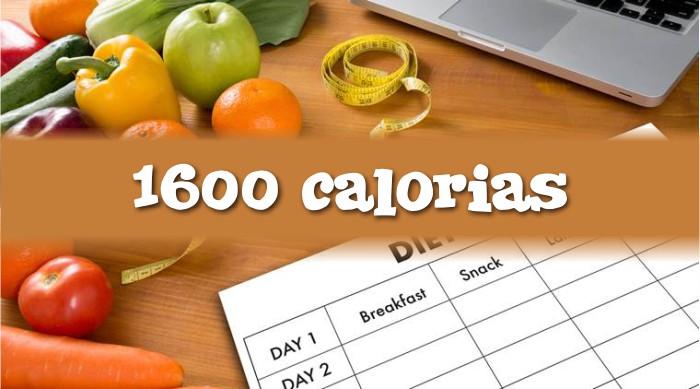 Cardápio de 1600 Calorias por Dia para Emagrecer e Fazer Dieta