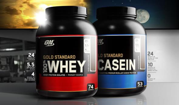 Diferença entre Caseína e Whey Protein para Ganho de Massa Muscular