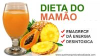 Dieta do Mamão para Emagrecer e Perder a Barriga