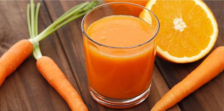 suco de ceonoura e laranja