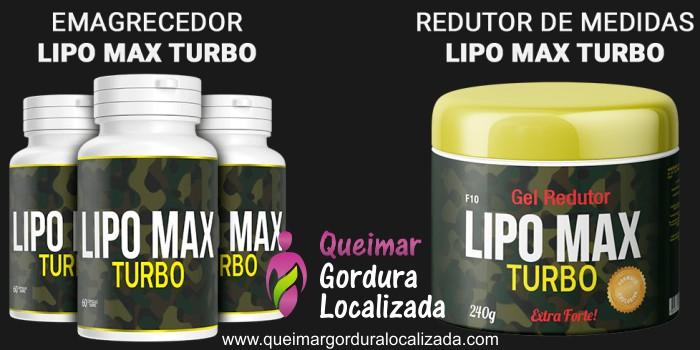 Emagrecedor Natural Lipo Max Turbo - Como Funciona e Onde Comprar?
