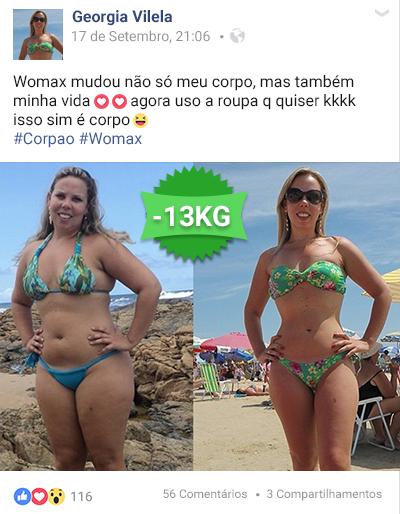 womax antes e depois