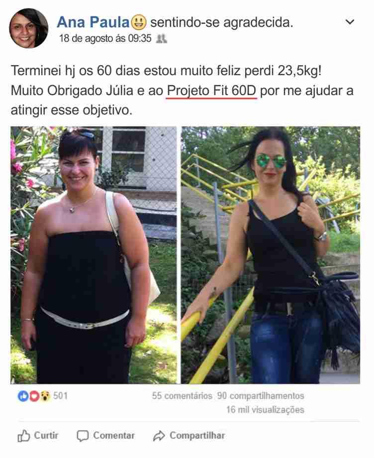 Ana Paula Projeto Fit 60D