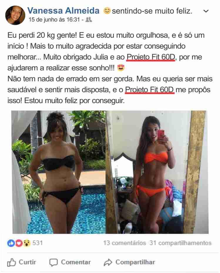 Vanessa Almeida Projeto Fit 60D