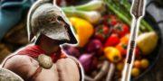 Dieta de Gladiadores - A Alimentação Vegetariana